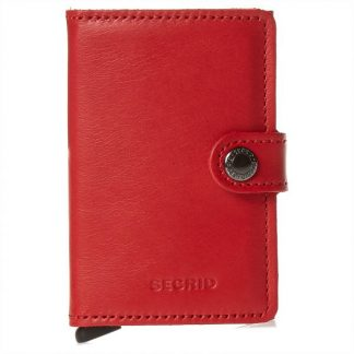 Miniwallet Original Red-Black-Secrid